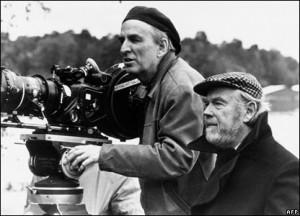 Ingmar Bergman and Sven Nykvist 1
