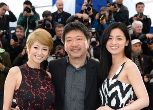 'Soshite Chichi Ni Naru' Photocall - The 66th Annual Cannes Film Festival
