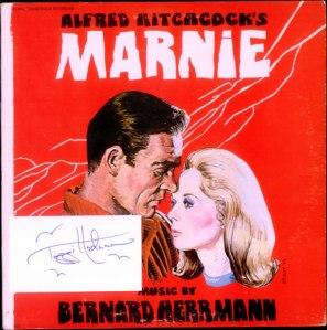 Bernard+Herrmann+-+Marnie+-+Red+Vinyl+-+Autographed+-+LP+RECORD-525856