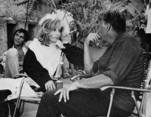 27th_on-the-set-of-modesty-blaise-in-italy-monica-vitti-is-joined-by-director-joseph-losey-and-terence-stamp